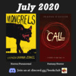 """In July we are featuring """"Mongrels"""" by Stephen Graham Jones and """"The Call (Grey Land, book 1)"""" by Peadar Ó Guilín."""