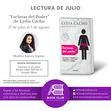 """¡Participa en la sesiones virtuales de Julio!  Este mes estaremos leyendo """"Esclavas del Poder"""" de Lydia Cacho para profundizar en la trata de personas con fines de explotación sexual."""
