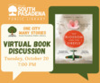 """This virtual discussion will be on """"The Blossom and the Firefly"""" by Sherri L. Smith. <b>Registration is required: www.southpasadenaca.gov/register.</b>"""