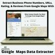 """Unfortunately, there's no way to easily download all the data from Google Maps to an Excel spreadsheet. Including business data, addresses, phone numbers, and more. This is true unless you use a <b><a href=""""https://www.ahmadsoftware.com/115/google-map-extractor.html"""">Google Maps Scraper</a></b> to extract and download all the data you want from Google Maps."""