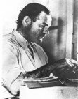What method did Ernest Hemingway use to commit suicide?