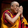 Which magazine does the Fourteenth Dalai Lama credit which much of his scientific knowledge that he applies in his writings?