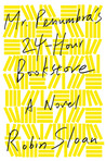 What makes the cover of the hard-cover edition of Mr. Penumbra's 24-Hour Bookstore so unique?