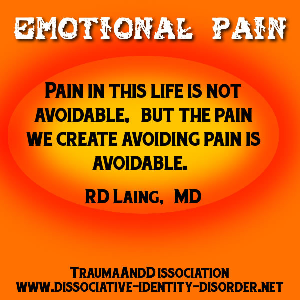 Pain In This Life Is Not Avoidable, But The Pain We Create Avoiding Pain  Is. U201c