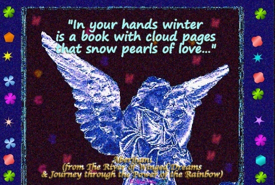 In Your Hands Winter Is A Book With Cloud Pages That Snow Pearls Of Love.