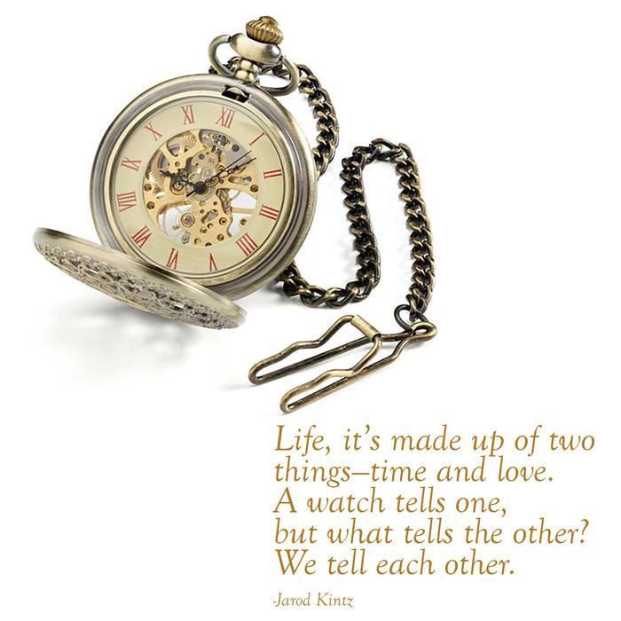 Quote By Jarod Kintz Life It S Made Up Of Two Things Time And
