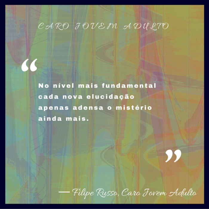 """Fundamental Quotes Images: Quote By Filipe Russo: """"No Nível Mais Fundamental Cada"""