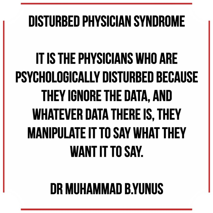 Disturbed Physician Syndrome Quotes 2 Quotes