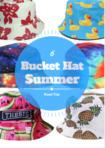 Six bucket hat summer