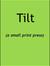 Tilt Press