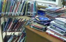 Emerson School  Library
