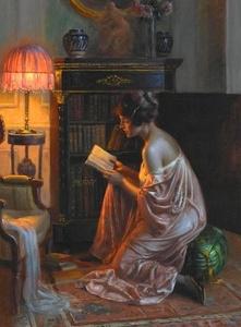 Aleen ~Lampshade Reader