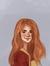 Rebekah,the Hufflepuff book girl