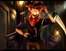 Quantum Thief - Spooky Ink Bandit Girl