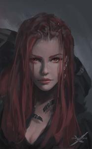 The Burning Rose (Jess)